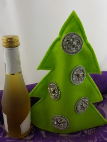Weihnachtsbaum aus Filz mit Kaffeekapseln ♥Upcycling♥ hellgrün Sonderedition (Kopie id: 100147485)