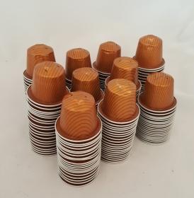 Kaffeekapseln leer & gesäubert 200 Stck Caramelito * caramell
