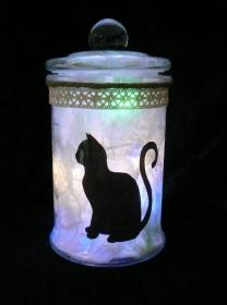 Windlicht Meine kleine Miezekatze für alle großen und kleinen Katzenfans