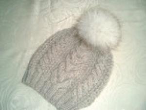 Mütze Alpaka mit/Ohne Bommel
