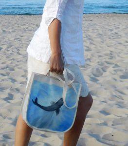 Tasche ☆Hai unter dem Wasser☆
