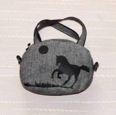 ☀ Auffällige Tasche aus Tweed.