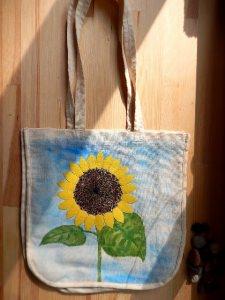 Tasche ☀ Sonnenblume