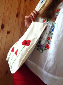 Beutel ☀Mohn☀ Tasche & Baumwolltasche