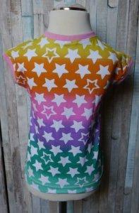 Easy Peasy T-Shirt Dreiecke/Rainbow Stars Größe 104