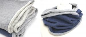 Sweat-Loop aus Baumwollsweat in verschiedenen Farben