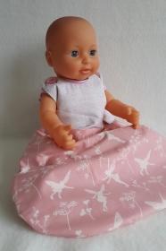 süßer Puppenschlafsack für kleine Puppenmamas und Papas