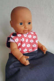 süßer Puppenschlafsack für Puppenmamas & Papas