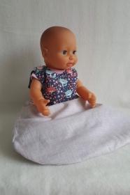 süßer Puppenschlafsack für Puppenpapas & Mamas