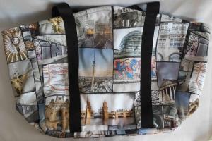 stylische Einkaufstasche mit Berlin-Motiv