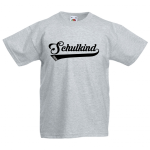 Schulkind 2019   - Fun Shirt für Mädchen und Jungen - Personalisiert - Einschulung T-Shirt