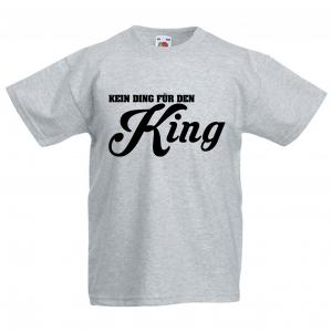 KEIN DING FÜR DEN KING - FUN T-SHIRT - Männer T Shirt