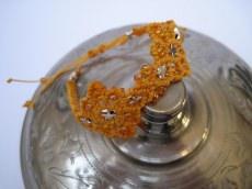 Macrame Armband Oriental mit Sternen, Macrameschmuck, Armband, micro Macrame