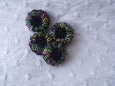 Blütenknöpfe Häkelknöpfe