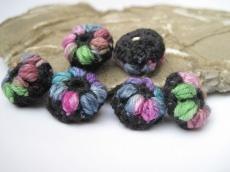 Blütenknöpfe, Häkelknöpfe, Knöpfe, Buttons, Accessoires