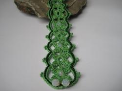 Halsband,  Choker green