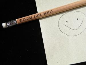 Nutze das spitze Ende / Bleistifte im 2er Set