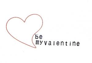 my valentine - Karte (Kopie id: 100162251)