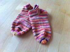 Damen Sneakersocken Handarbeit Gr37/38