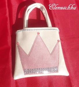 Kinderhandtasche Prinzessin