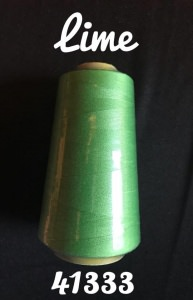 Overlockgarn - Lime grün - ca. 2700m - Handarbeit kaufen