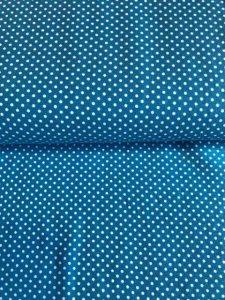 Jersey - Dots blau/weiß