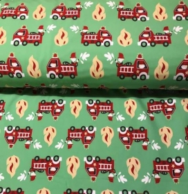Softshell  -Feuerwehr- grün - Handarbeit kaufen