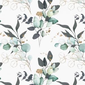 Jersey  -Eucalyptus creme & gold- Premium Collection