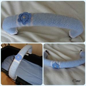 ♥♥♥ Bügelschoner für den Kinderwagen Bugaboo Hellblau ♥♥♥
