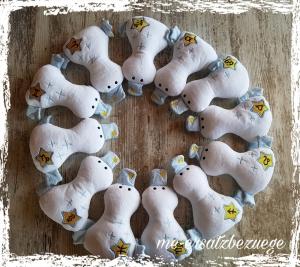 ♥♥♥ Baby Kuschelente Sternzeichen Hellblau Fische ♥♥♥