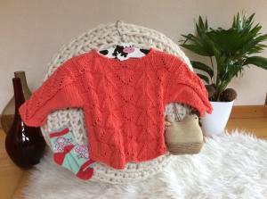 Lässig eleganter Baby Pullover - Handarbeit kaufen