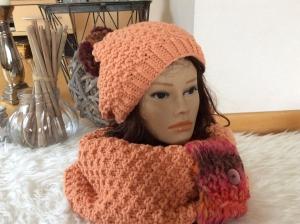 Zauberhaftes Damen Winter Strickset - Handarbeit kaufen