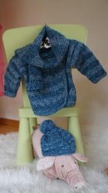Zauberhafte Babyjäckchen Kombination - Handarbeit kaufen