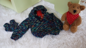 Frecher Baby Kapuzenpulli  - Handarbeit kaufen