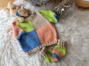 Frecher Baby Kurzarmpulli