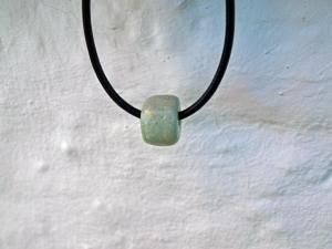 Keramik Perlen Farbe Mint 1,20 Millimeter.