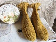 Handgestrickte Wollsocken, Selbstgestrickte Socken 37/38, Handgemacht
