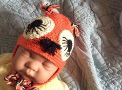 Babymütze für Neugeborene, Handgemacht, gehäkelte Babymütze