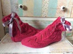 Handgestrickte Wollsocken, 37/38, Handgemacht, Selbstgestrickte Socken