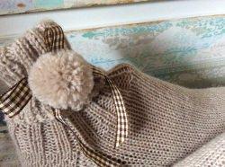 Handgestrickte Wollsocken, 35/36, Handgemacht, Selbstgestrickte Socken