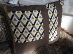 Kissenbezug, Handgemacht, 50x60cm, Kissenhülle, Handgefertigt