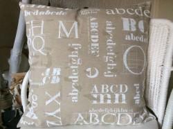 Kissenbezug, Handgemacht, 50x50cm, Kissenhülle, Handgefertigt