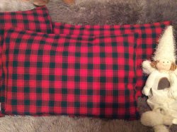 Kissenbezug, Handgemacht, Kissenhülle 40x60cm, Handgefertigt