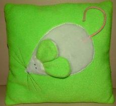 ♥ Schmusekissen Mäuschen