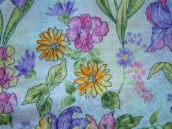Baumwollstoff bunte Blumen