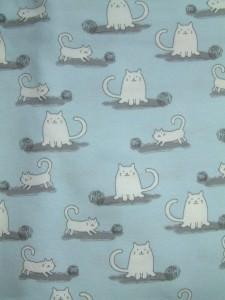 Jersey Katzen hellblau