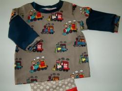 Babyshirt, Skatershirt, Langarmshirt, Kindershirt, ein Unikat Babyshirt