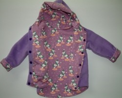 Baby Einhorn Jacke, Wendejacke