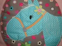 ♥ Schmusekissen Pferd