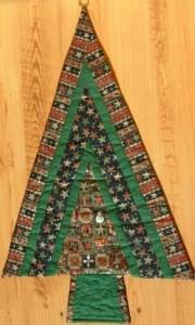 Wandbehang Weihnachtsbaum